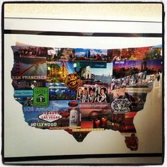 My collection of postcards from traveling. USA babyyy