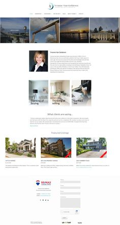 Website Designs, Surrey, Real Estate Marketing, Townhouse, Colonial, Condo, Custom Design, Terraced House, Site Design