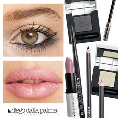 Sexy light makeup by diego dalla palma milano #motd #makeup #idea #cosmetics #beauty #eyeshadow #nude #lips #lipstick