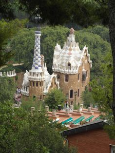 Located in the city of Barcelona, the Park Guell is one of the most beautiful icons of the city.