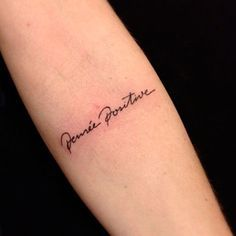 Tatuagens de frases mais do que especiais
