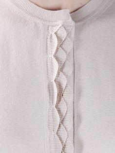 CHLOÉ - ruffle front cardigan 5