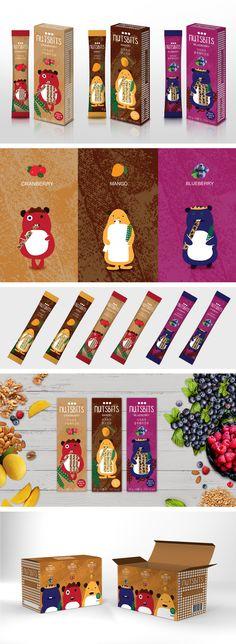 B FOR Brand, Packaging Design, Nutsbits              비포브랜드, 패키지 디자인, 너츠비츠