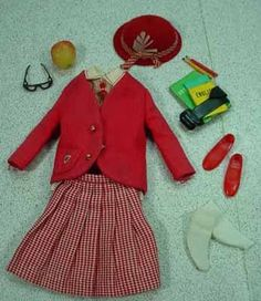 Vintage Barbie- Skipper School Girl #1921, Complete (1965)