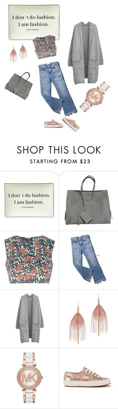 """I don't do fashion. I am fashion"" by luisa ❤ liked on Polyvore featuring Twigs and Moss, Balenciaga, Glamorous, Serefina, Michael Kors and Superga"