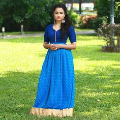 959badaa822b Traditional South Indian Style Maxi Dresses Saree Gown