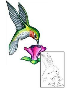 Show details for Hummingbird Tattoo HGF-00364