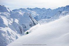 Arlberg Powder Skiing #1 by Christoph_Oberschneider