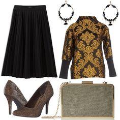 83f9616d9f Fantasie barocche: outfit donna Chic per ufficio e tutti i giorni | Bantoa