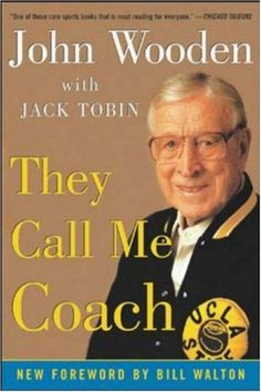 They Call Me Coach, by John Wooden, Jack Tobin