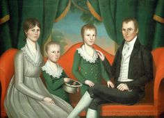 Ralph Eleaser Whiteside Earl, American 1788-1838 Painting by Litz Collection