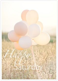 Happy Saturday... Have a wonderful day!