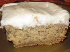 Gluten Free Banana Cake  I actually made this and it was a total hit. Delicious.