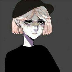 Dark Drawings, Cartoon Drawings, Instagram Cartoon, Trash Art, Dark Pictures, Sad Art, Female Character Design, Aesthetic Images, Creature Design