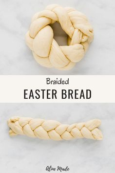 These cute and little vegan braided Easter bread are the perfect sweet bread for your Easter brunch with family and friends. Kid Desserts, Chocolate Desserts, Easter Dinner, Easter Brunch, Easter Bread Recipe, Easter Recipes Vegan, Bunny Bread, Braided Bread, Vegan Bread