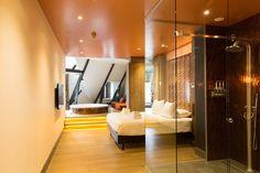 Manzo's Suites in Zaandam Bar Bistro, Copper Room, Sunken Bathtub, Rainfall Shower, Unique Hotels, Breakfast In Bed, Lounges, Good Company, Lofts