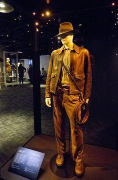 Indiana Jones Costume Display