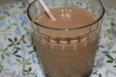 Healthy Peanut Butter Smoothies