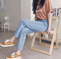 15 Outfits that will make you look like an influencer - They will make you look very stylish. Best Picture For outfits con botines For Your Taste You are - Cute Fashion, Look Fashion, Teen Fashion, Fashion Models, Fashion Outfits, Fashion Photo, Womens Fashion, Autumn Fashion, Korean Fashion Trends