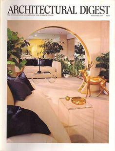 Architectural Digest Magazine - Nov 1977