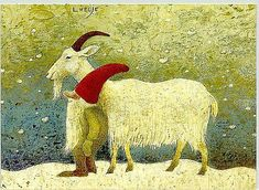 Illustrators only: Lennart Helje Swedish Christmas, Scandinavian Christmas, Christmas Art, Winter Illustration, Book Illustration, Nordic Art, Fairytale Art, Christmas Paintings, Woodland Creatures