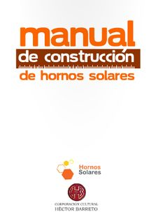 Hornos Solares CHILE - Manuales