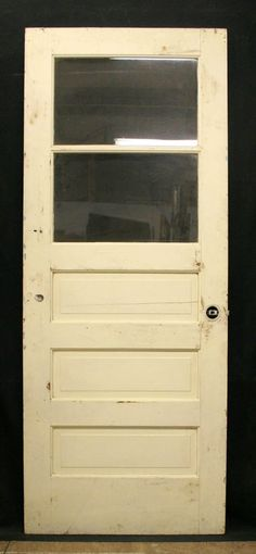 32x79 Vintage Pine Exterior Entry Side Back by PennAntiqueRestore, $94.99
