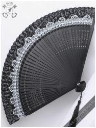 Gothic Lolita folding fan
