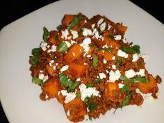 Feta, Bruschetta, Pork, Ethnic Recipes, Sweet, Kale Stir Fry, Candy, Pork Chops