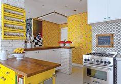 Cozinha amarela <3