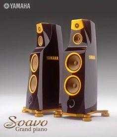 Mono and Stereo High-End Audio Magazine: Yamaha Grand Piano speakers