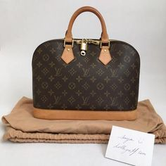 Louis Vuitton Monogram Alma PM Handbag Very good condition | Lollipuff