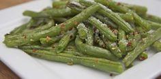 Roasted Fresh Green Beans Recipe ~ Parmesan Garlic   Divas Can Cook