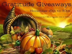 Stuck In Books: Gratitude Giveaway