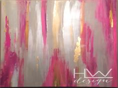 A personal favorite from my Etsy shop https://www.etsy.com/listing/232644069/pink-champagne-36x48-original-abstract