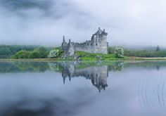 """kilchurn castle - good day trip from """"our"""" castle"""