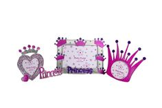 Portaretratos de princesa, de diferentes formas, marca Miro Babies.