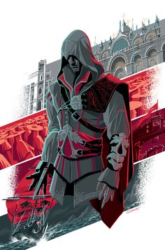 My cover for Assassin's Creed Reflections issue #1 from Titan Comics by George Caltsoudas