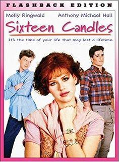 Molly Ringwald & Anthony Michael Hall & John Hughes-Sixteen Candles