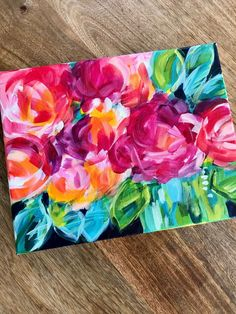 How to Paint Loose Abstract Flowers with Acrylic Paint on Canvas the Easy Way Tutorial. - - How to Paint Loose Abstract Flowers with Acrylic Paint on Canvas the Easy Way Tutorial. Painting Flowers Tutorial, Easy Flower Painting, Basic Painting, Acrylic Painting Flowers, Acrylic Painting Tutorials, Beginner Painting, Abstract Flowers, Acrylic Art, Acrylic Painting Canvas