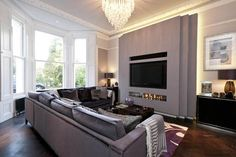 Historic Vicarage Transformed Into Luxurious Holiday Retreat - http://freshome.com/2012/08/21/historic-vicarage-transformed-into-luxurious-holiday-retreat/