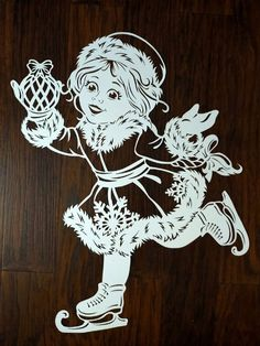 Christmas Stencils, Christmas Wood, Christmas Crafts, Christmas Decorations, Glass Painting Designs, Paint Designs, Paper Cutting, Wood Crafts, Diy And Crafts