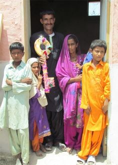 In Ahmed Dars Village, Sindh, Pakistan, CWS handed over the first 40 homes rebuilt after the 2010 floods.