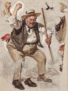 Anger, Joseph C leyendecker