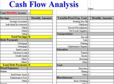 Concert Promotions Company  Cash Flow Statement Sample