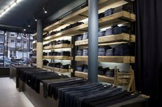 Tenue de Nîmes is a concept store that unites various items ranging from vintage US army watches to photographs and design pieces; however, its main focus is denim. The other products sold alongside the quality denim are carefully selected and naturally fit together. With... #worldofjeansandmore