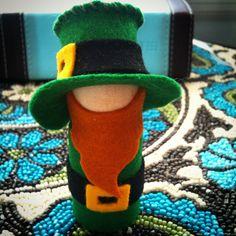 Leprechaun Peg Doll Kit