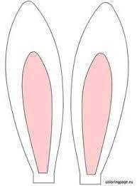 Resultado de imagen para molde de corte y confeccion de conejo