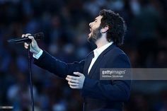Singing at the U.S Open 2015