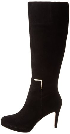 5be0eb79bf7a Nine West Women s Evah Suede Knee-High Boot    Check this useful article by  going to the link at the image.  bootsoftheday
